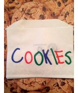 Cookie bags 40 Cute Bags for Your Fresh Baked Cookies-Cookie Monster Party - $7.89