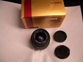 SIGMA AF ZOOM 35-80mm F4-5.6 DL-Ⅱ for Minolta & Sony Cameras - $35.99