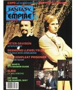 Fantasy Empire Magazine #9 Doctor Who 1984 NEW UNREAD FINE - $5.94