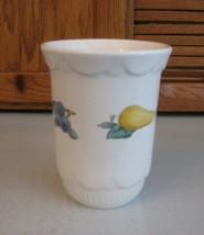 Pfaltzgraff Pottery  HOPSCOTCH Utensil Holder Crock Fruit Vegetables USA - $12.86