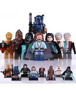 8pcs/set Star Wars Rise of Skywalker Kylo Ren Luke Palpatine C-3PO Minif... - $16.99