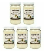 5 Butcher Boy 100% Refined Coconut Oil 36.25 oz Non-GMO Best By 12/2020 - $21.76