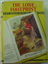 Kay Tracey mystery no.15 The Lone Footprint Cupples & Leon hcdj Frances ... - $30.00