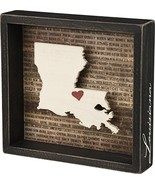 "Primitives by Kathy Louisiana Wanderlust Box Sign, 8.5"" x 8"", - $13.29"