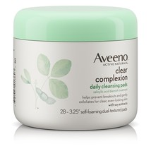 Clear Complexion Daily Facial Cleansing Pads With Salicylic Acid Blemish  - $15.35