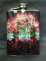 EDM Concert Party D9 Flask 8oz Stainless Steel Drinking Whiskey Clearanc... - $9.90