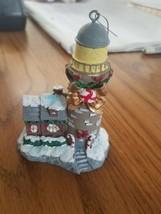 Christmas Tree Ornament Lighthouse no box - $40.47