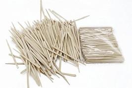 Fyess 500Pcs Small Wax Applicator Sticks Wood Spatulas Applicator for Hair Eyebr image 1