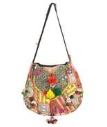 "Big Banjara Bag 14X16"" Vintage Hobo Sling Tote Ethnic Tribal Gypsy India... - $56.05"