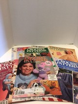 Crochet Patterns By Herrschners Magazine Lot 90's Afghans Toys Sweaters ... - $11.29