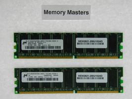 MEM2821-256U1024D 1GB Approved 2X512MB DRAM Memory Cisco 2821