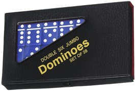 Double 6 Jumbo Dominoes - Blue - $14.64