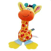 Infant Deer Plush Toy Comfort Sound Paper Teether appease Stuffed Toy Pl... - $10.20