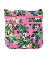 Vera Bradley Triple Zip Hipster Cross-body Bag in Tropical Paradise - $47.95