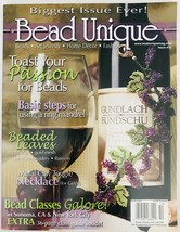 Bead Unique Magazine #10 Fall 2006 Art Jewelry Home Decor Fashion DIY Cr... - $6.89