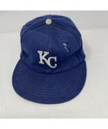 Vintage Wool MLB Kansas City Royals Wool Baseball Hat Adult Size - $19.79