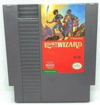 Legacy of the Wizard Nintendo Entertainment System NES 1989 Video Game C... - $6.83