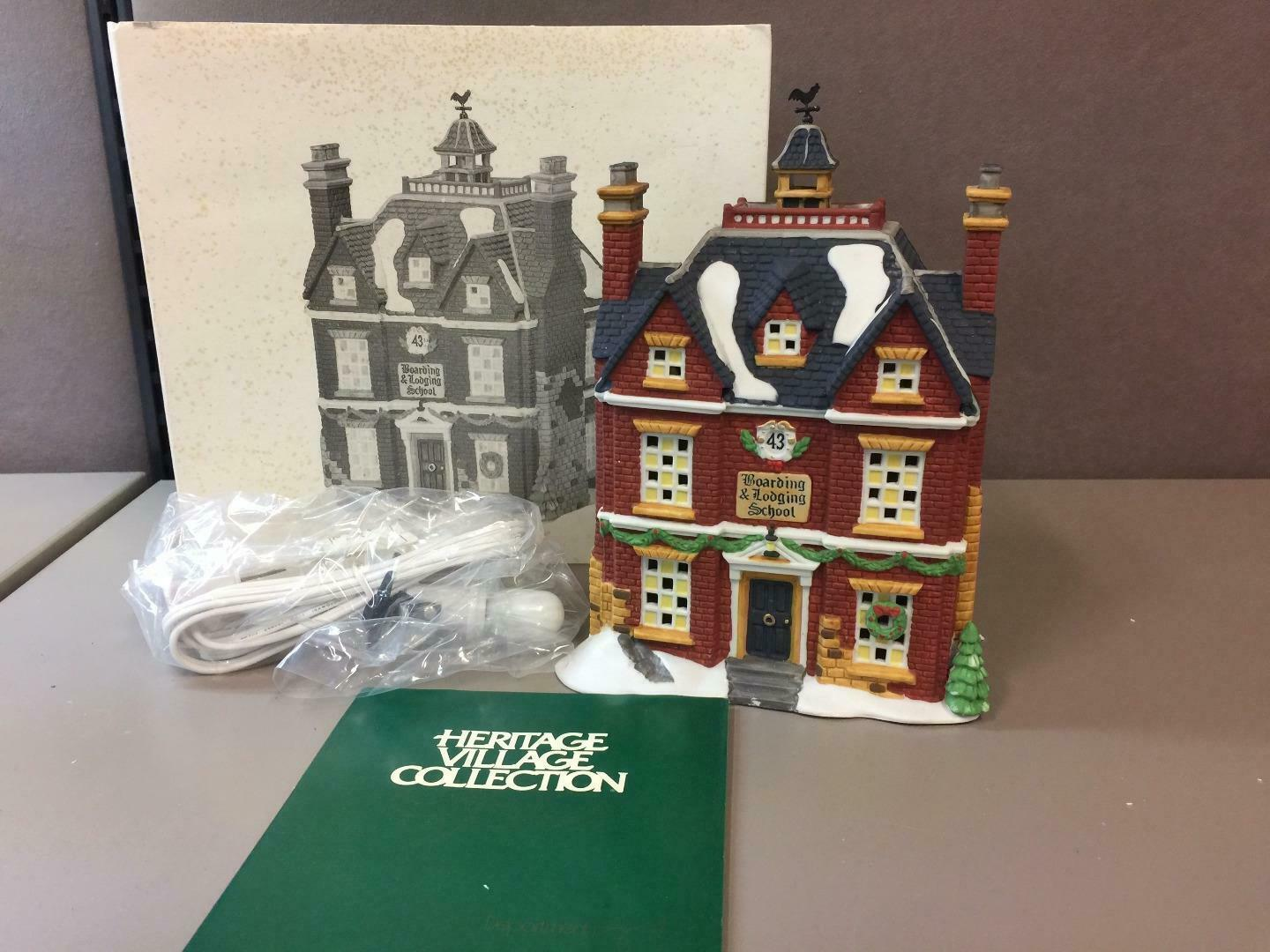 Primary image for Dept 56 Heritage Collection Dickens' Village Series Boarding & Lodging School