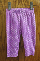 Children's Place Purple Polka Dot Pants - size Girls 3-6M - $8.99