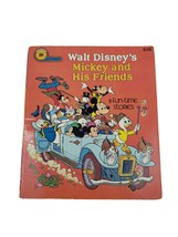 VTG A Golden Book 1977 Walt Disney's Mickey and His Friends 8 Funtime St... - $20.00
