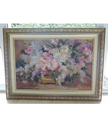 AMERICAN LISTED ARTIST RUTH BADERIAN (1927 -2010) SIGNED OIL PALETTE PAI... - $3,900.00