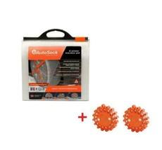 AutoSock AS685 Snow Sock Set W/ 2 Emergency Safety Flare - $123.70