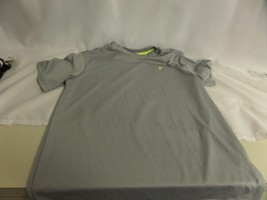 BOYS OLD NAVY LOOSE FIT SIZE 10/12 GRAY SHORT SLEEVE SHIRT - $11.30