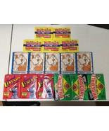 16 Wax Pack Pack Lot of 1989 Bowman Baseball, Pacific Legends 1988 P Pee... - $14.96
