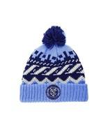 New York City FC adidas MLS Soccer Team Sweater Pom NYC FC Winter Hat Be... - $20.85