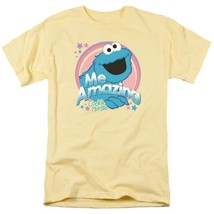 Sesame Street Cookie Monster PBS Retro 60s 70s 80s graphic t-shirt SST196 image 1