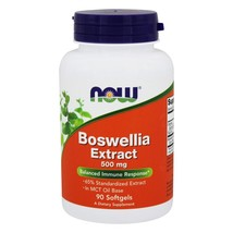 NOW Foods Boswellia Extract Balanced Immune Response 500 mg., 90 Softgels - $18.05