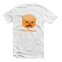 Halloween Trumpkin Donald Trump Funny Fancy Dress T Shirt - $10.12