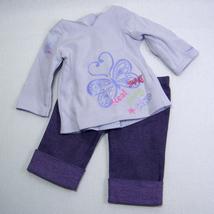 "American Girl REAL ME Shirt and Purple Denim Pants for 18"" Dolls - $11.50"