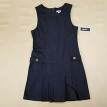 Old Navy- Twill Uniform Pleated Dress Jumper- Navy Blue 10 NWT - $9.89