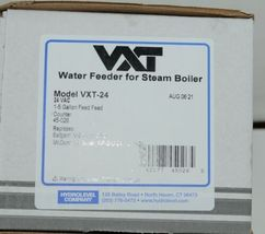 Hydrolevel Co VXT 24 Water Feeder for Steam Boiler 24 VAC Digital image 6