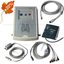 CONTEC ICU Vital Signs Patient Monitor Sync PC Screen Monitoring ECG NIB... - $327.24