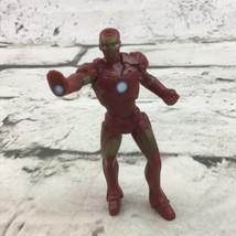 "Marvel Avengers Iron-Man Miniature 3"" Figure Comic Book Super Hero 2007 Toy - $9.89"