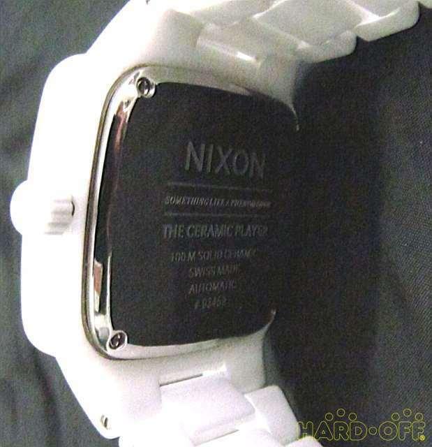 Nixon 03459 The Ceramic Player Automatic Watch image 3