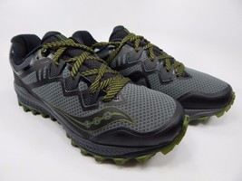 Saucony Peregrine 8 Men's Trail Running Shoes Size 9 M (D) EU 42.5 Grey S20424-1