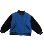 American Girl Gear Varsity Jacket Girls XL Plus Size Mismark Quilted Woo... - $34.99