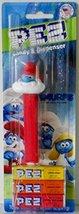 Pez Candy & Dispenser Smurfs Papa Smurf Pez Dispenser with 3 Rolls of Pe... - $9.79