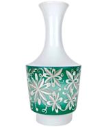 Midcentury Spahr & Co. Silver Overlay German Edelstein Porcelain Vase - €302,85 EUR