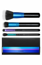 MAC Enchanted Eve Mineralize Travel Brush Kit Face Eye Shadow Clutch Bag... - $39.50