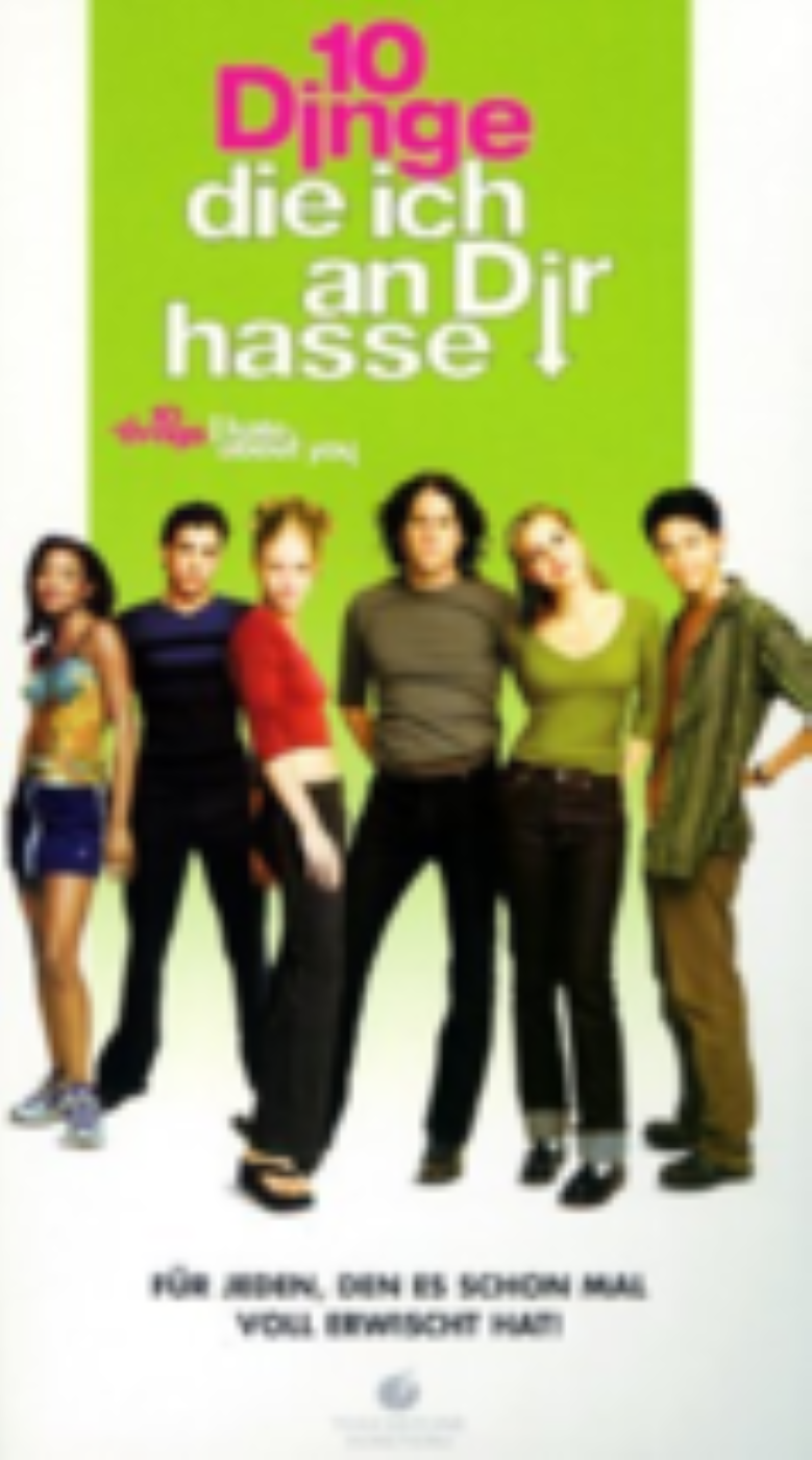 10 Things I Hate About You Vhs