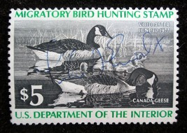 $5 stamp 1976 Scott # RW # 43 Canada Geese Duck Stamp Unsigned Mint NH V... - $6.92
