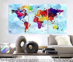 """Original by BoxColors Large 30""""x 60"""" 3 Panels 30x20 Ea Art Canvas Print ... - $109.00"""