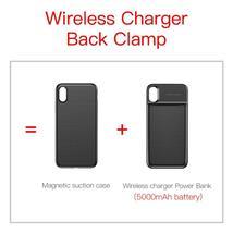 Baseus 5000mAh QI Wireless Charger Case External Battery Wireless Charging image 5