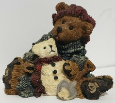 "Collectible Christmas Boyds Bears & Friends #2242 3"" Elliot & Snowbeary 1994 - $12.86"