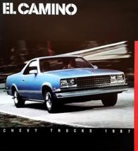 1987 Chevrolet EL CAMINO sales brochure catalog 87 Chevy SS - $9.00