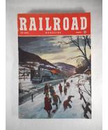 Vintage Railroad Magazine March 1948 Train on Cover - $14.80